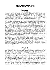 Fichier PDF texte ralph lauren