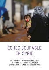 2015 03 16 rapport echec coupable en syrie