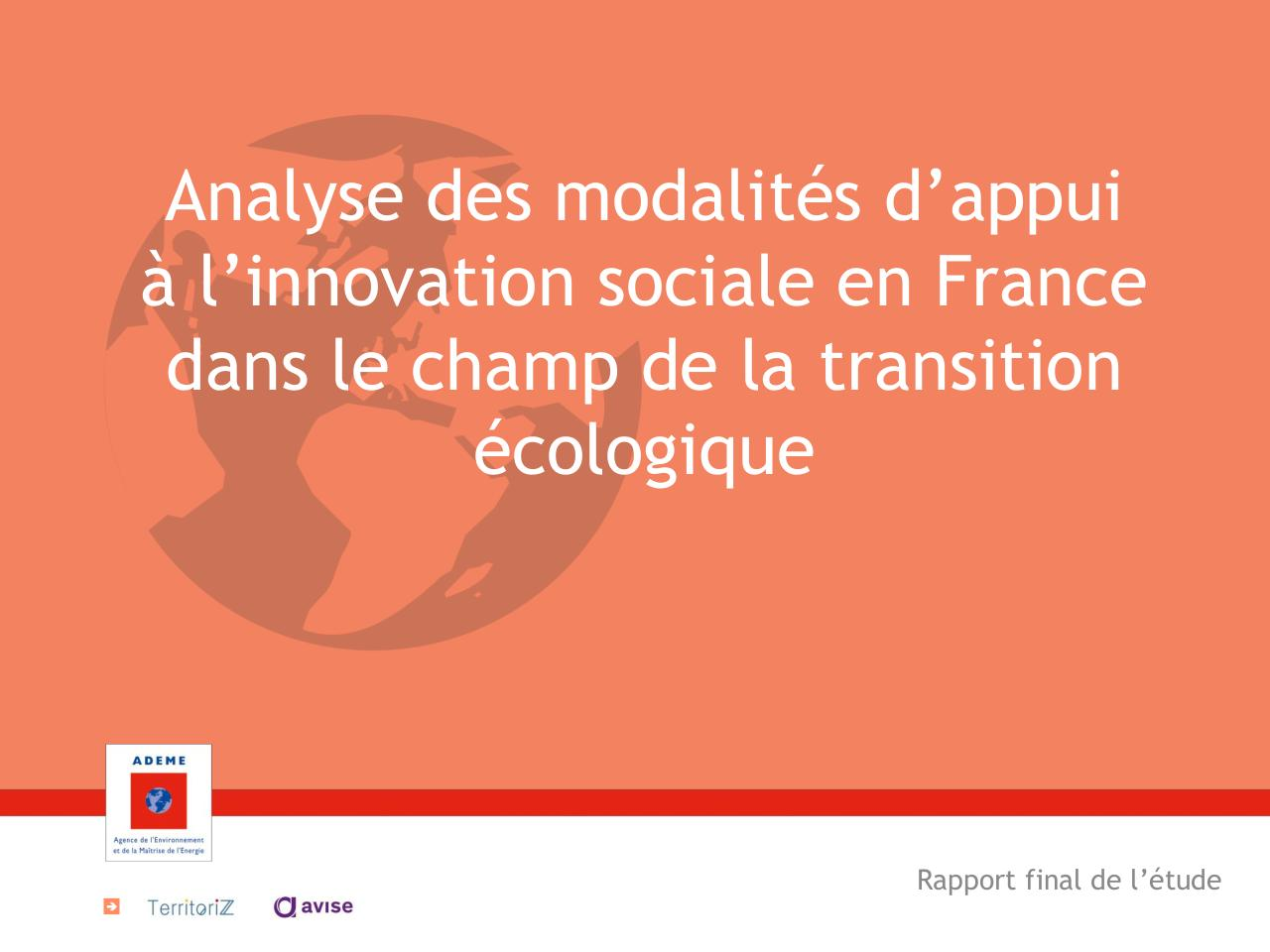 Accompagner l'innovation sociale - RAPPORT PUBLIC.pdf - page 1/53