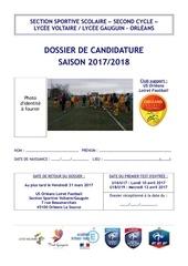 dossier de candidature 2017 2018 ss voltaire gauguin garcon