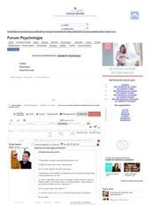 lachez vous forum psychologie vf