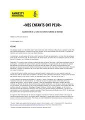 rapport amnesty international 28 fevrier 2017