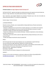offre stage mrsie gb cx 0203201705