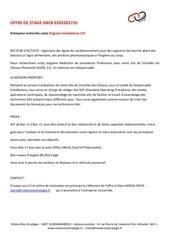 offre stage mrsie gb cx 0203201710