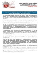 Fichier PDF projet d ordonnance contre le statut des fonctionnaires