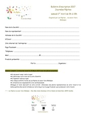 bulletin d inscription journees pepites 1er avril 2017