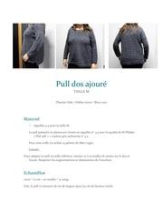 modele pull femme zelie plancke