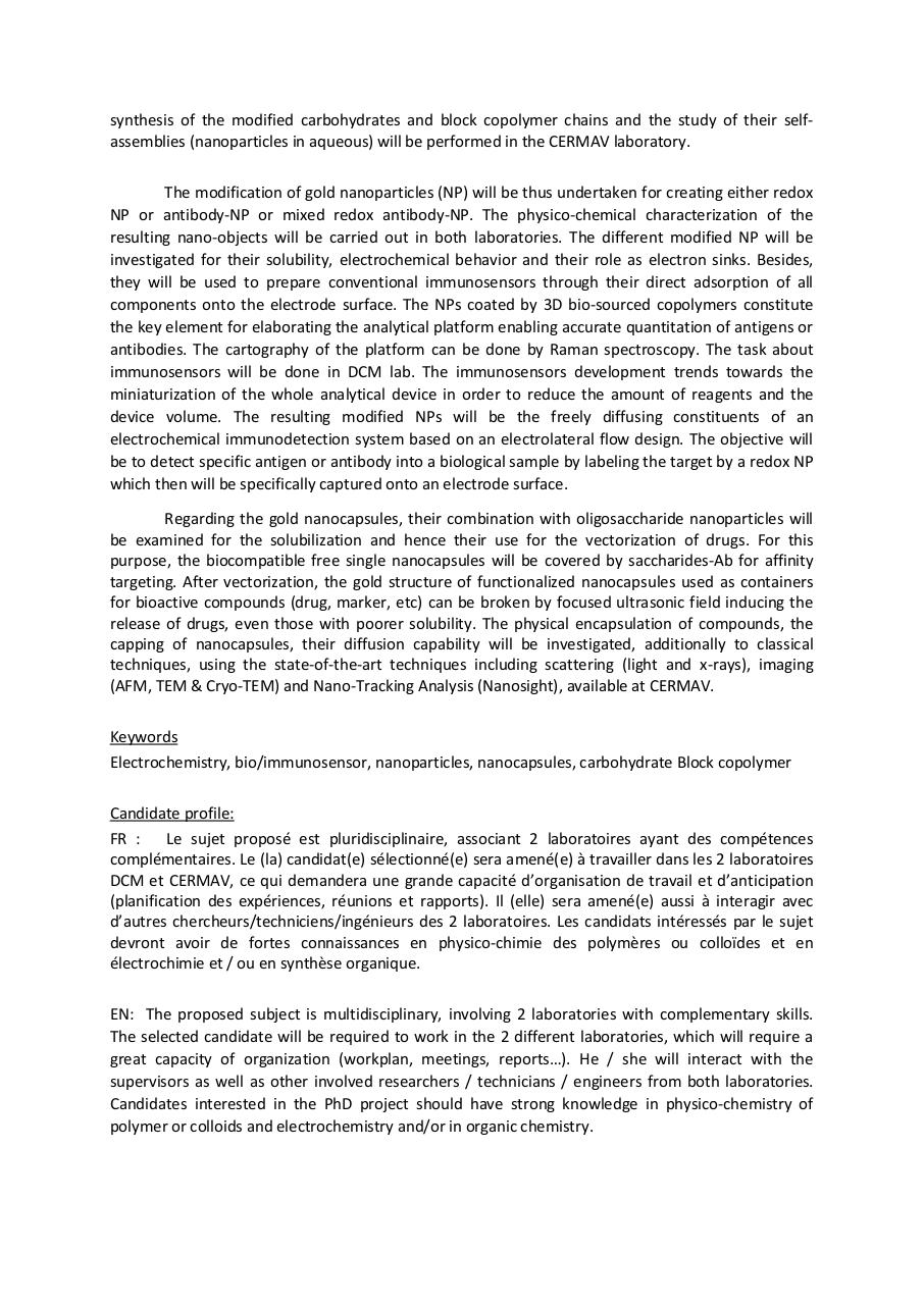 PhD position in Nanochemistry (Grenoble).pdf - page 2/3