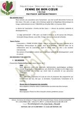 presentation association fbc