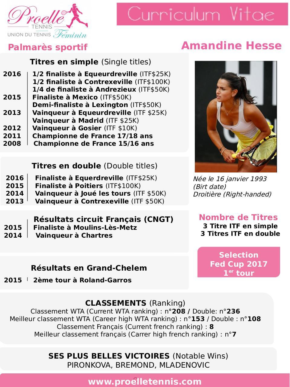 pr u00e9sentation powerpoint par pro elle tennis