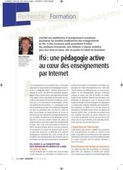 pe dagogie active et enseignement par internet