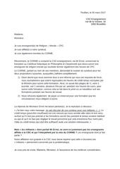 Fichier PDF lettre csc