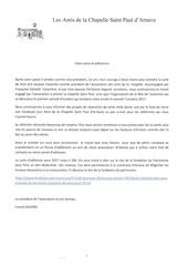 Fichier PDF courrier association