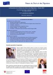 newsletter maison du droit et des migrations fevrier 2017