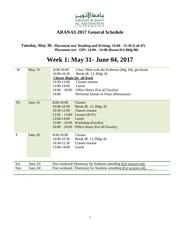aranas 2017 program
