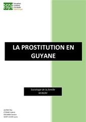 la prostitution en guyane espe 2017