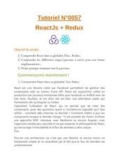 react redux tutoriel 1