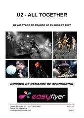 Fichier PDF u2 dossier de sponsoring