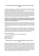 Fichier PDF annonce postdoc