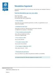 Fichier PDF caf