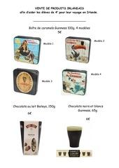 catalogue irish products