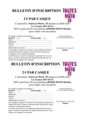 Fichier PDF incription balade