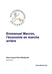 les economistes atteres macron
