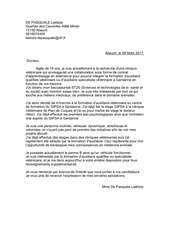 lettre de motivation asv pdf