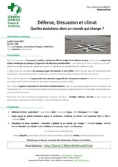 invitation 13 mars defense dissuasion climat