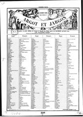 argot et jargon pierre alexandre