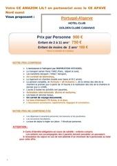 offre 1 portugal balneaire juillet 2017 ext