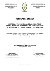 Master thesis renewable energy