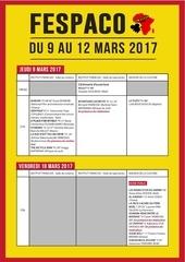 programme fespaco 2017 2 1