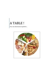 a table alimentation saine et equilibree