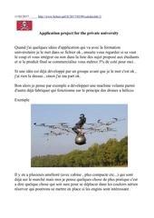projet d application caledoclub 1