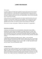 livret des regles pdf