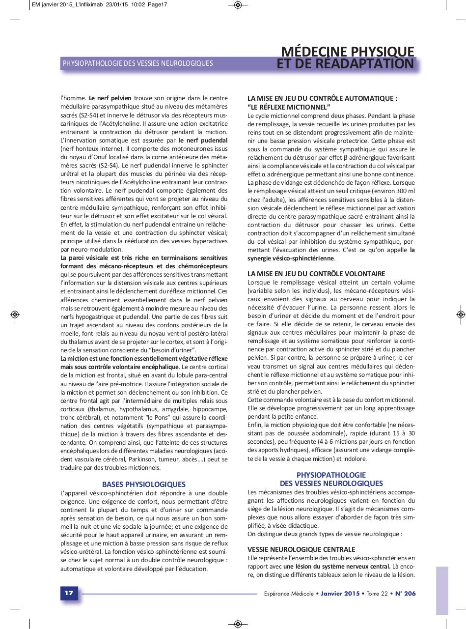 Aperçu du document Physiopathologie vessies neurologiques.pdf - page 2/3