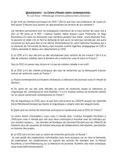 re ponses questionnaire m1 llce