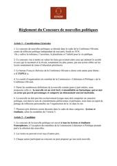 Fichier PDF reglement concours de nouvelle 2017