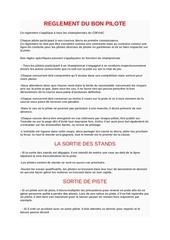 Fichier PDF reglement du bon pilote