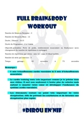full brain body workout fbb workout