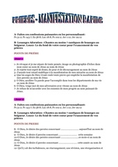 Fichier PDF manifestation rapide