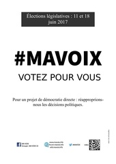 affiche mavoix 1
