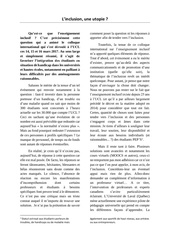 article inclusion