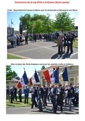 ceremonie du 8 mai 2015 a ambares 3eme partie