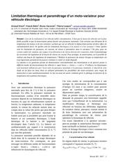 Fichier PDF limitation thermique et parametrage controler vehicule elec