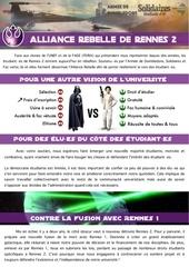 pf alliance rebelle finale