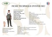 fiche technique oyster sec