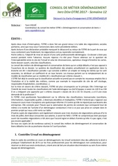 infos demenagement otre 20 3 2017 semaine 12
