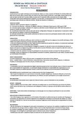 reglement ronde des moulins et ch teaux 1
